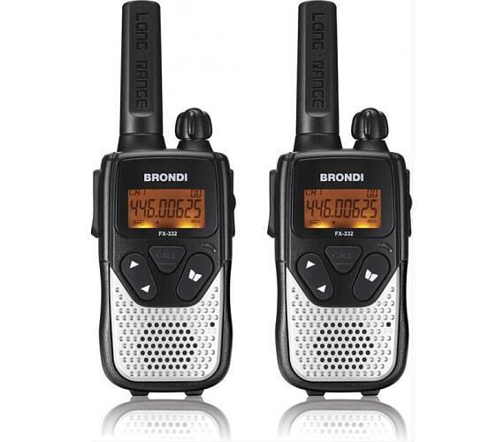 Vysílačky Brondi PMR BR-FX332 TWIN