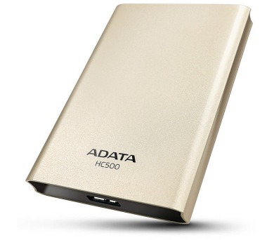 A-Data HC500 1TB - zlatý