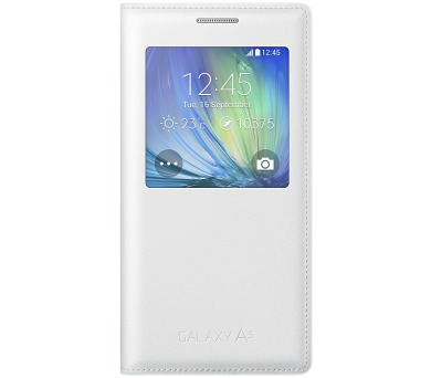 Samsung S-View pro Galaxy A5 (EF-CA500B) - bílé + DOPRAVA ZDARMA