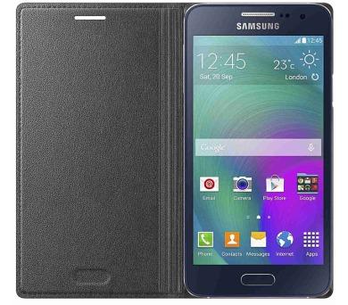 Samsung pro Galaxy A3 (EF-FA300B) - černé + DOPRAVA ZDARMA