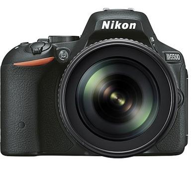 Nikon D5500 + 18-105mm VR + ZDARMA powerbanka Nikon + DOPRAVA ZDARMA