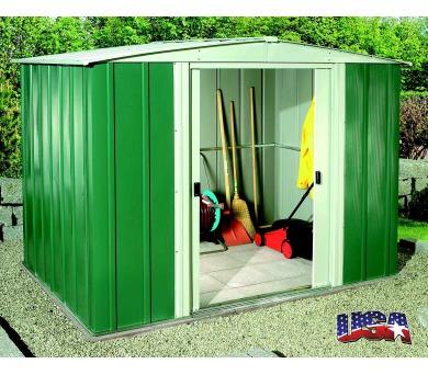 Zahradní domek Lanit Plast ARROW DRESDEN 86 zelený