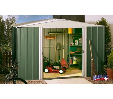 Zahradní domek Lanit Plast ARROW DRESDEN 1012 zelený