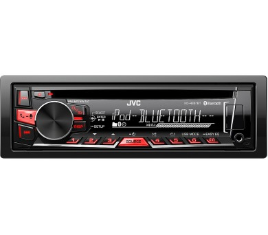 KD R861BT AUTORÁDIO S CD/MP3/BT JVC + DOPRAVA ZDARMA