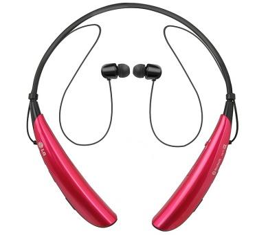 LG HBS 750 Tone Pro bezdrátová - růžová + DOPRAVA ZDARMA