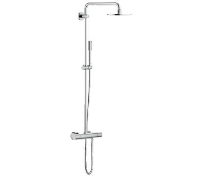 Grohe Rainshower® System 210 - sprchový systém s termostatem na zeď (27032001) + DOPRAVA ZDARMA