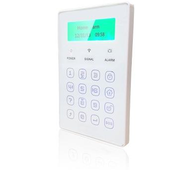 iGET SECURITY P13 - externí bezdrátová klávesnice s LCD