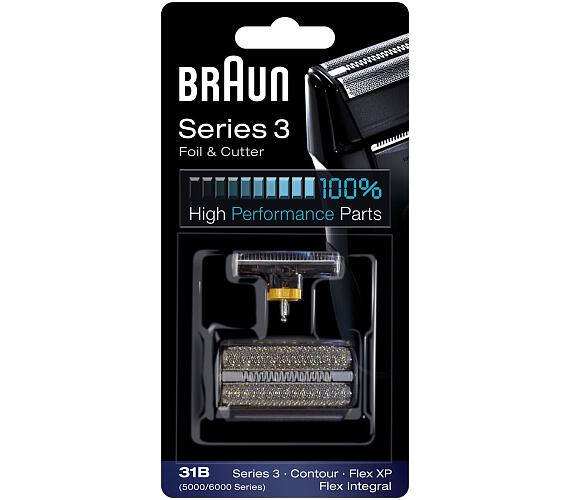Braun FlexIntegral - 31B černý