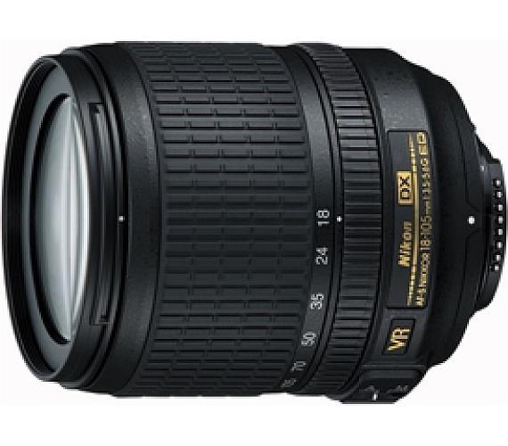 Nikon 18-105mm F3.5-5.6G AF-S DX VR ED + DOPRAVA ZDARMA