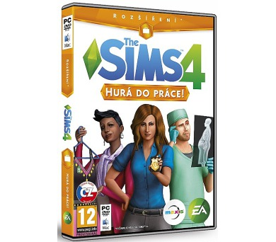 PC THE SIMS 4: Hurá do práce!