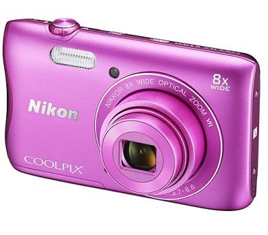 Nikon Coolpix S3700 růžový + DOPRAVA ZDARMA