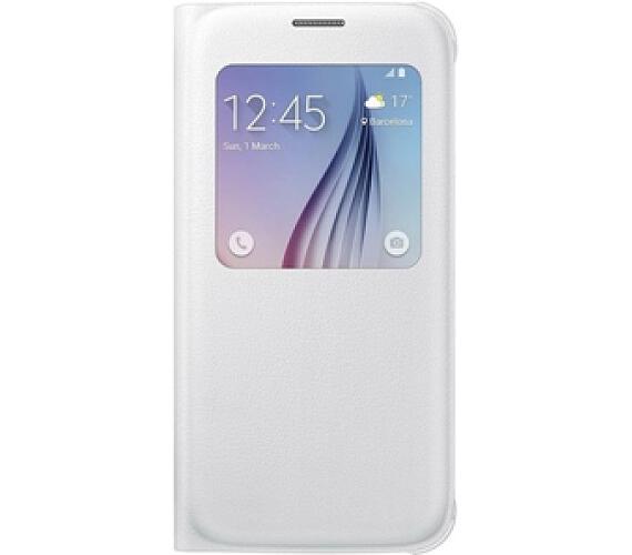 Samsung S-View pro Galaxy S6 (EF-CG920PW) - bílé + DOPRAVA ZDARMA