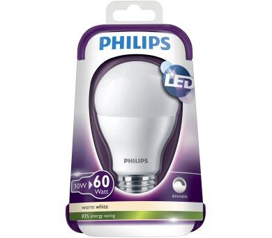 LED 60W E27 WW 230V A60 FR Dim/4 Massive 8718291744658