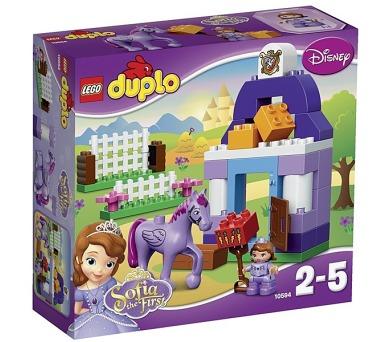 Stavebnice Lego® DUPLO Sofia the First 10594 Pricezna Sofie I.-Královské stáje