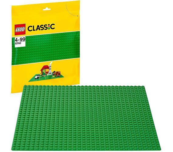 Stavebnice Lego® Classic 10700 Zelená podložka na stavění