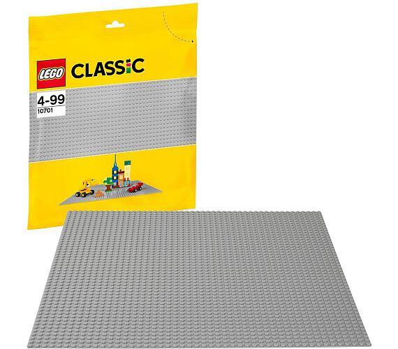 Stavebnice Lego® Classic 10701 Šedá podložka na stavění
