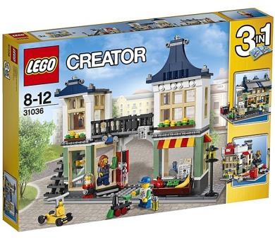 Stavebnice Lego® Creator 31036 Obchod s hračkami a potravinami