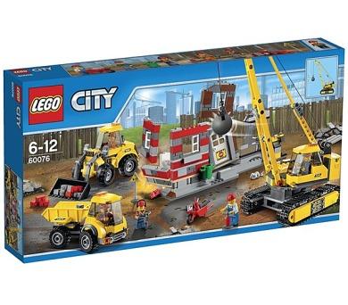Stavebnice Lego® City Demolition 60076 Demoliční práce na staveništi + DOPRAVA ZDARMA