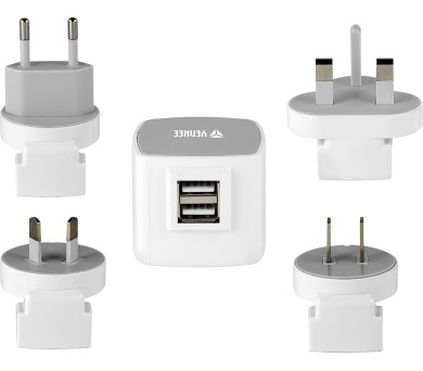 YAT 202 Cestovní adaptér USB 3.5A Yenkee