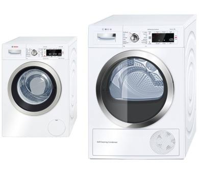 Bosch WAW28560EU + Sušička prádla Bosch WTW85561BY + 100 dní možnost vrácení*