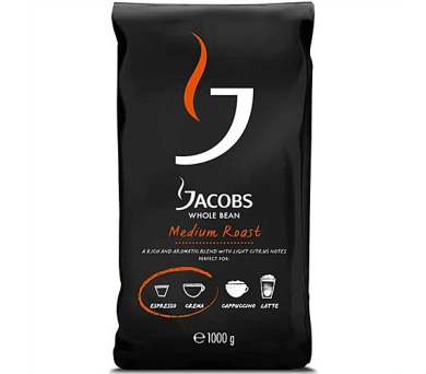 Jacobs Whole bean Medium roast 1000g