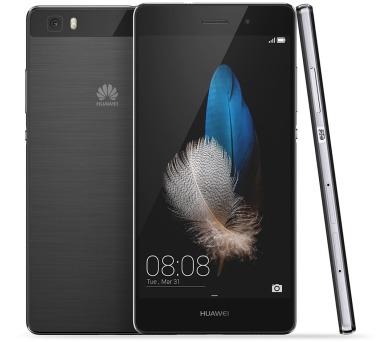 Huawei P8 Lite DS - černý + DOPRAVA ZDARMA