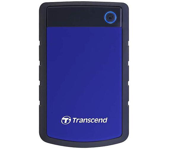 Transcend StoreJet 25H3B 1TB - černý/modrý
