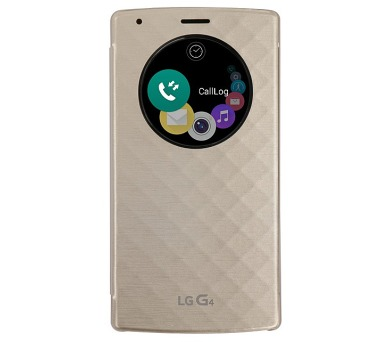 LG Quick Circle (Snap On) pro G4 - zlaté
