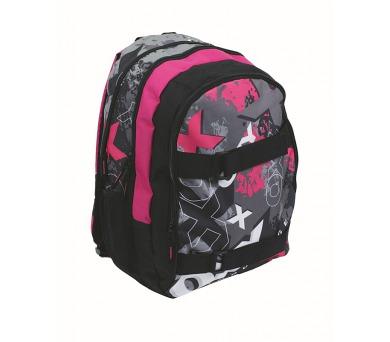 Batoh školní P + P Karton OXY Sport II Pink + DOPRAVA ZDARMA
