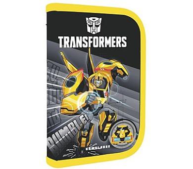 Penál školní P + P Karton jednopatrový naplněný Transformers