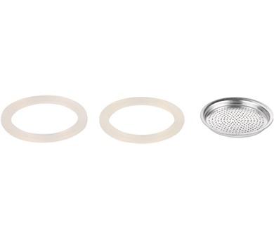 Silikonové těsnění 2 ks a filtr PALOMA 1 šálek