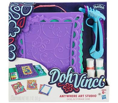 Play-Doh Doh Vinci cestovní zdobící set