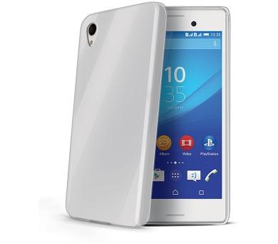 Celly Gelskin pro Sony Xperia M4 Aqua - průhledný
