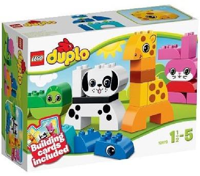 Stavebnice Lego® DUPLO Kostičky 10573 Postav si zvířátka