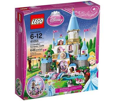 Disney Princezny 41055 Popelčin romantický zámek + DOPRAVA ZDARMA