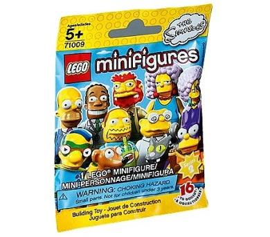 Lego 71009 Minifigurky Simpsonovi 2. série