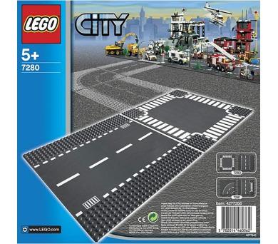 Stavebnice LEGO® CITY 7280 Rovná silnice a křižovatka