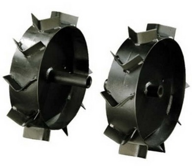 MTD Železná kola 330x80 mm pro kultivátor + DOPRAVA ZDARMA