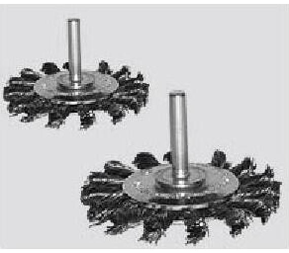 DWT copánkový ocelový kartáč pr. 75 mm na vrtačky