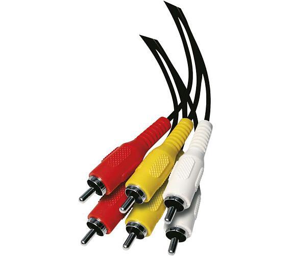 AV kabel 3x CINCH - 3x CINCH 1,5m
