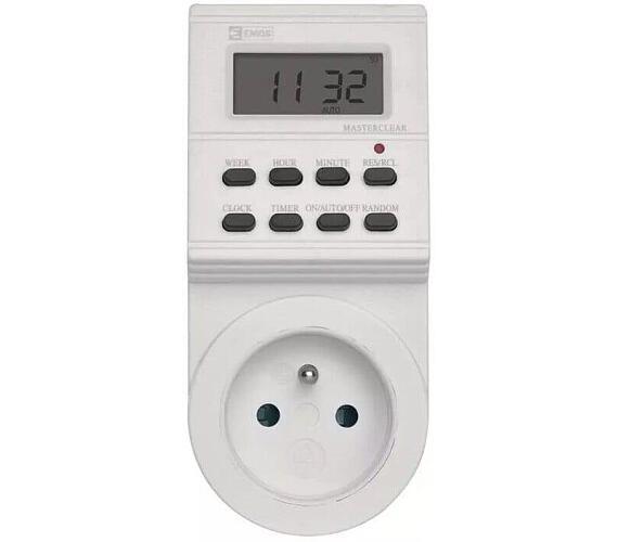 Časovač - digitální spínací zásuvka TS-EF1 + DOPRAVA ZDARMA