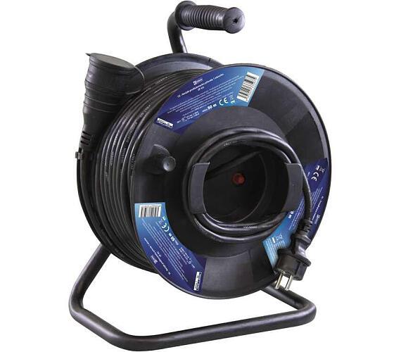 Gumový prodlužovací kabel na bubnu - spojka 50m + DOPRAVA ZDARMA