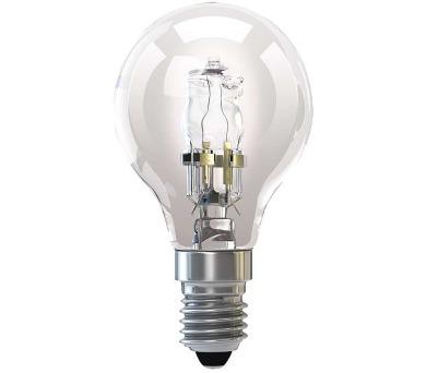 Halogenová žárovka ECO Mini Globe 42W E14 teplá bílá
