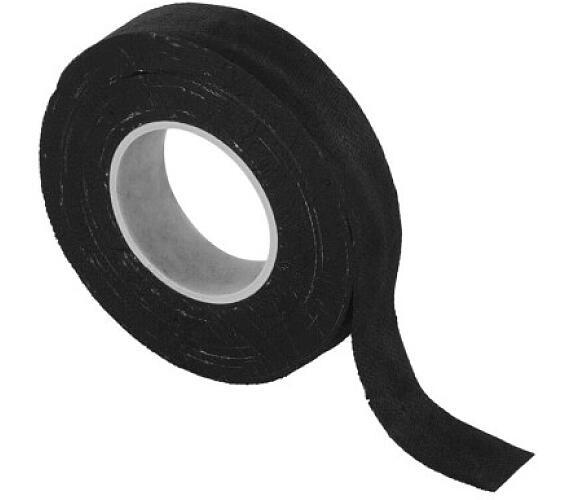 Izolační páska textilní 19mm / 10m černá