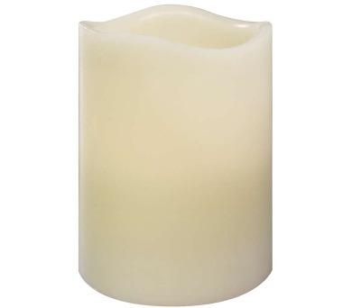 LED vosková svíčka s vůní vanilky + DOPRAVA ZDARMA