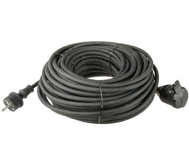 Prodlužovací kabel gumový spojka 3x1,5mm 30m