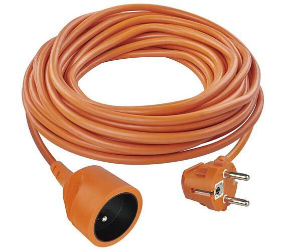 Prodlužovací kabel oranžový spojka 25m + DOPRAVA ZDARMA