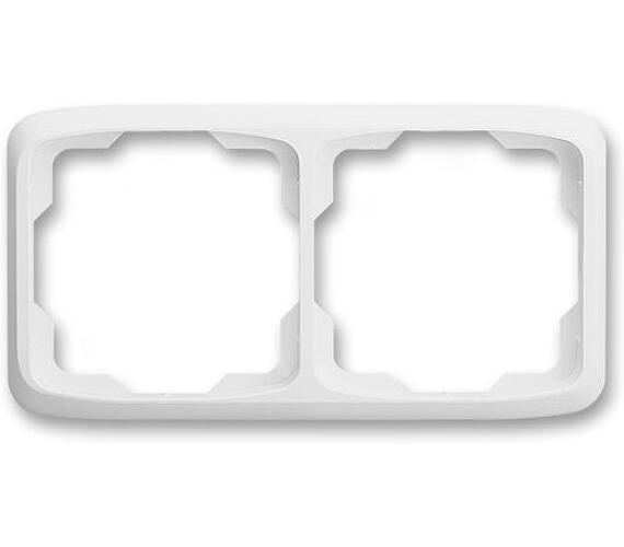 Rámeček pro přístroje dvojitý TANGO 3901A-B20B vodorovný