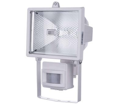 Reflektor 500W s PIR senzorem bílý + DOPRAVA ZDARMA