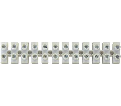 Svorkovnice 12x4,0 mm bílá